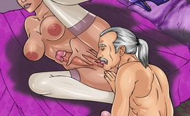 MILFs with dicks spoiling famous toon plot