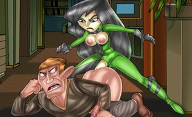 Shemale Kim Possible unleashed