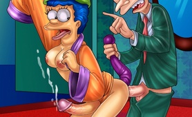 Shocking transsexual Simpsons porn