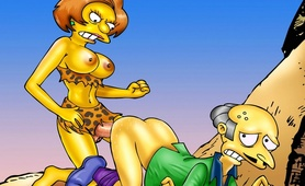 Simpsons' futanari sex frenzy hitting Springfield