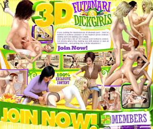 AE 3D Futanari