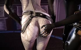 Mass Effect futanari ass
