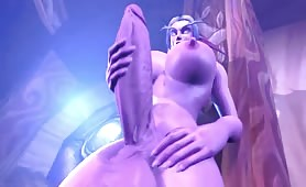 Futa ELUNE'S BIG BLESSED COCK